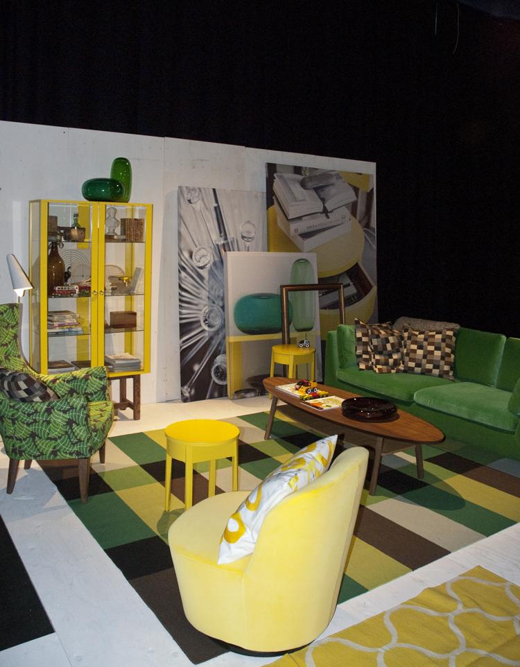 50 tals stil p ikeas nya stockholm kollektion. Black Bedroom Furniture Sets. Home Design Ideas
