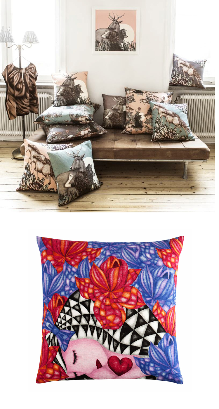 Anna Ekre/Nordic Design Collective och Lotus/H&M Home