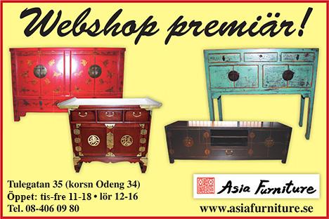 asiatiska möbler