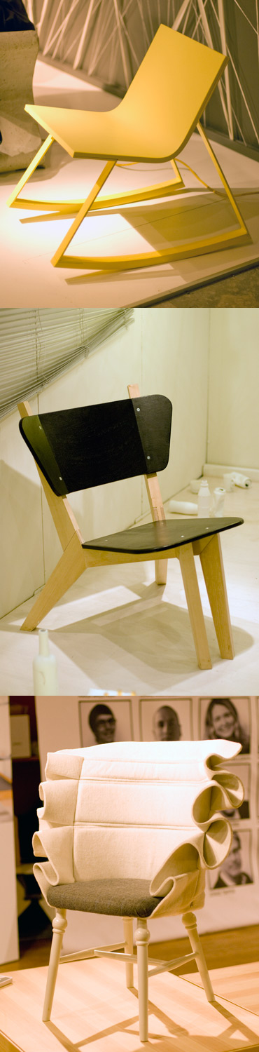 Stolar, Stockholm Furniture Fair