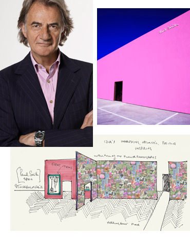 Sir Paul Smith, Stockholm Furniture Fair