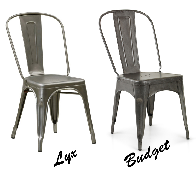 stol i metall