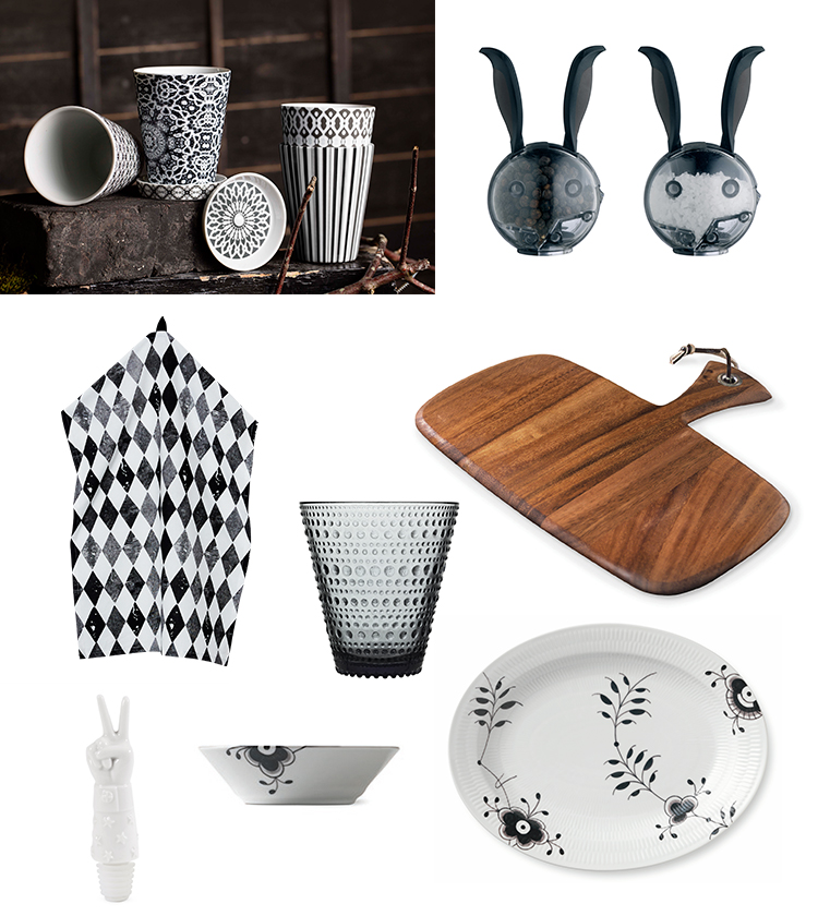 Göteborgsfabrikerna, Jonathan Adler, Iittala, Hemtex, Royal design, Habitat, Ironwood Gourmet/Cook´n Bloom