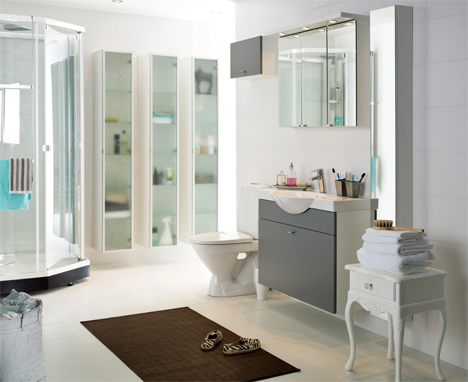Glamourösa badrum
