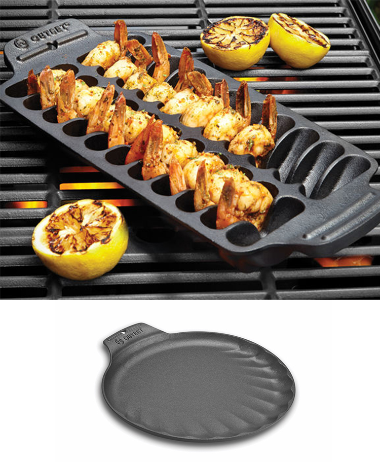 Outset Shrimp Grill Pan och Seafood Grill Pan Foto: Cook´n Bloom