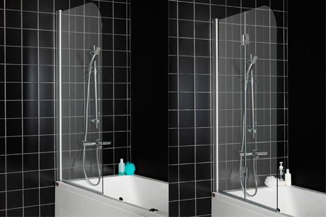 Duschvägg badkar vikbar