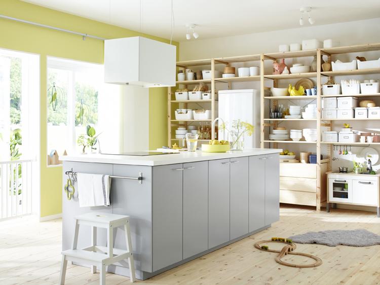 Kok Inredning Ikea : Ett kok for den som stondigt jobbar i koket och som snabbt vill ha