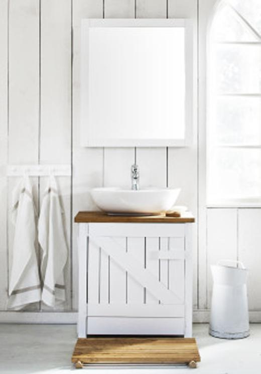 Bondromantik med Svedbergs badrumsmöbel Dalstorp