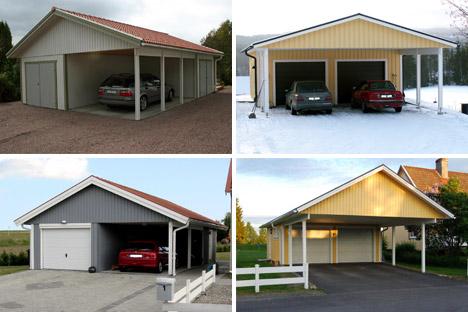 Bygga carport till garage