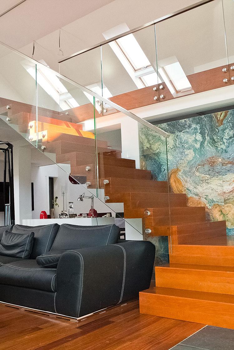 Moderna trappor för moderna hus