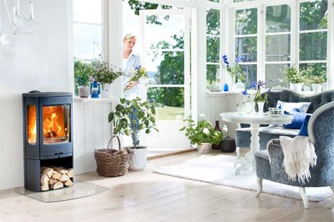 braskamin contura 850 nibe ab contura. Black Bedroom Furniture Sets. Home Design Ideas