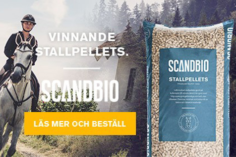 Stallpellets från Scandbio