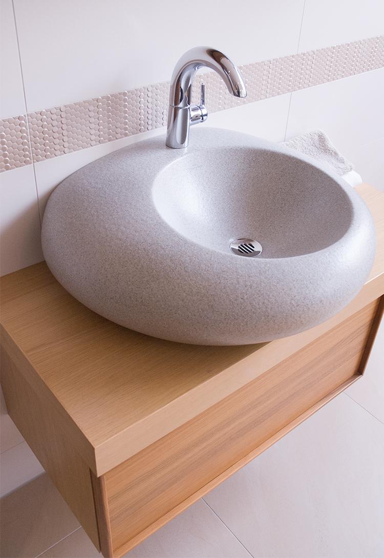 Tvättställ till det lilla badrummet
