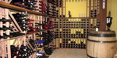 bygga liten vinkällare