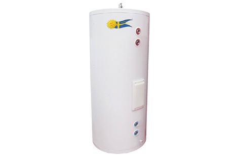 Rostfri varmvattenberedare